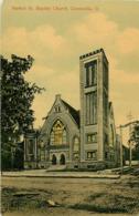 Etats-Unis - Ohio - Zanesville - Market St Baptist Church - état - Zanesville