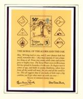 TRISTAN DA CUNHA  - 1982 Scouts Miniature Sheet Unmounted/Never Hinged Mint - Tristan Da Cunha