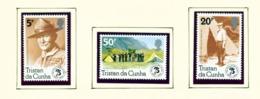 TRISTAN DA CUNHA  - 1982 Scouts Set Unmounted/Never Hinged Mint - Tristan Da Cunha