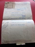 Lettre /laboratoire Pharmacie Anduze Pénurie 1947 Flamme CCP Marcophilie Timbre Affr. Composé Marianne De GANDON CÉRÈS - 1921-1960: Periodo Moderno