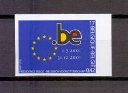 3014 EUROPESE UNIE ONGETAND POSTFRIS** 2001 - Belgien