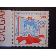 Timbre N° 487 Neuf ** - Jeux Olympiques D'hiver, à Calgary - St.Pierre Et Miquelon
