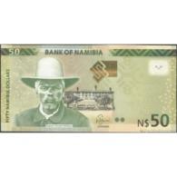 TWN - NAMIBIA 13b - 50 Dollars 2016 Prefix G - Signature: Shiimi UNC - Namibia