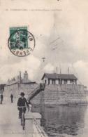 CHERBOURG - MANCHE - (50) - RARE CPA ANIMÉE DE 1908. - Cherbourg