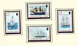 TRISTAN DA CUNHA  - 1983 Sailing Ships Set Unmounted/Never Hinged Mint - Tristan Da Cunha