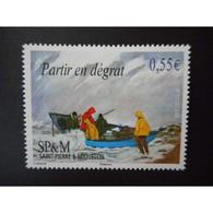 Timbre N° 926 Neuf ** - Expressions Locales - Partir En Dégrat - St.Pierre & Miquelon