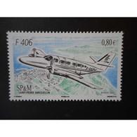 Timbre N° 979 Neuf ** - Avion F 406 - St.Pierre & Miquelon