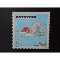 Timbre N° 982 Neuf ** - Sport. Natation - St.Pierre & Miquelon