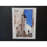Timbre N° 1000 Neuf ** - Eglise De L'île Aux Marins - St.Pierre & Miquelon