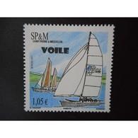 Timbre N° 1009 Neuf ** - Sport. La Voile - St.Pierre & Miquelon