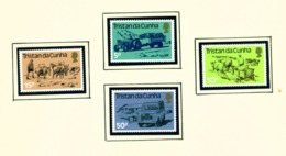 TRISTAN DA CUNHA  - 1983 Land Transport Set Unmounted/Never Hinged Mint - Tristan Da Cunha