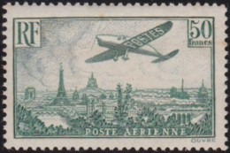 France  .    Yvert  .  PA 14 (2 Scans)  Peu De Gomme      .   *   .    Neuf Avec Charniere   .   /   .   Mint-hinged - Poste Aérienne
