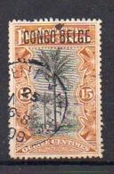 CONGO - PRINCES - 42PT Obl - Pos 28 - Cote 70 Euros -  CERTIFICAT - RRR - UN6 - Congo Belga