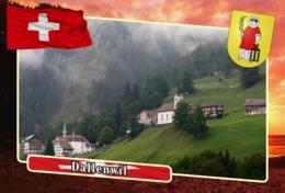 Postcard, REPRODUCTION, Municipalities Of Switzerland, Dallenwil - Maps