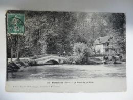 CPA LE PONT DE LA VILLE - Montataire