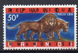 "RWANDA - COB 66 - VARIETE ""sans Barres Métalisées"" - Xx - UN6 - Rwanda"