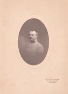 TOULOUSE MILITAIRE. 3 Regt.  Identifié Au Verso. 1918.  Portrait Anc. Mais. Provost Toulouse. 18 Cm X 13 Cm - Oorlog, Militair