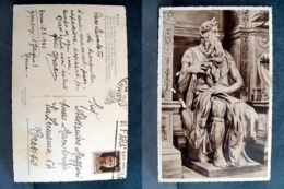 (FP.A17) ROMA - STATUA DI MOSè (MICHELANGELO BUONARROTI) - Sculture