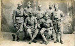 N°78066 -carte Photo Soldats Du 15 è Régiment D'artillerie - Regiments