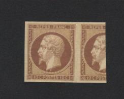 Reproduction N° 9 10 C Napoléon Neuf Sans Gomme - 1852 Luis-Napoléon