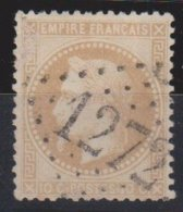 GC  1272   DAMVILLE   ( 26  EURE )  SUR  28   SIGNE - 1849-1876: Klassieke Periode