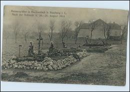 W8L45/ Hochwalsch B. Saarburg Lothringen Massengräber 1914 AK - Lothringen