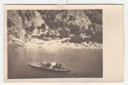 Traditional Boat On Neretva River (Neretvanska Lađa) Old Photo Unused B191101 - Kroatië