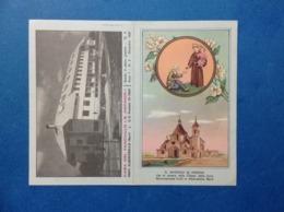 1969 Calendarietto Calendario Santino Holy Card Image Pieuse S Antonio Casa Del Fanciullo Alberobello Bari - Santini