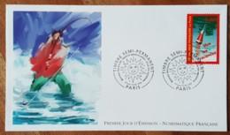 FDC 1999 - YT N°3243 - VIVE LES VACANCES - PARIS - FDC