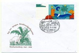 A26462)Dinosaurier: Bundesrepublik Brief - Briefmarken