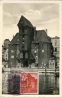 48694 Germany Reich  Maximum 19.9.1939 Danzig  Krantor , Architecture,(see 2 Scans) - Briefe U. Dokumente