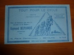 BUVARD TOUT POUR LE CYCLE RAYMOND DELPLANQUE - Motos & Bicicletas