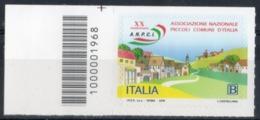 Italia 2019 - ANPCI Associazione Nazionale Piccoli Comuni D'Italia Codice A Barre MNH ** - 6. 1946-.. República