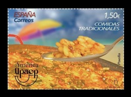 Spain 2019 Mih. 5392 America-UPAEP. Gastronomy. National Cuisine. Paella MNH ** - 2011-... Unused Stamps