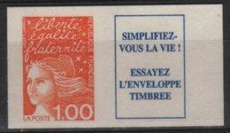 ADH 85 - FRANCE N° 16a Neuf** Marianne Du 14 Juillet Avec Vignette - Adhésifs (autocollants)