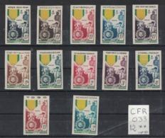 Colonies Francaises - Centenaire Médaille Militaire NON DENTELE Sans Charnière - 1952 Centenaire De La Médaille Militaire