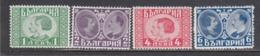 Bulgaria 1930 - Royal Weeding, Mi-Nr. 222/25, MNH** - 1909-45 Kingdom