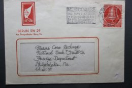 Deutsche Post: 1953 Cover To USA (#RU7) - [5] Berlino
