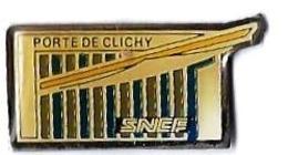 SERVICES DIVERS - SD168 - PORTE DE CLICHY SNCF - Verso : SM - TGV