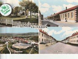 25 - Très Belle Carte Postale Semi Moderne Dentelée De VALDAHON   Multi Vues - Other Municipalities