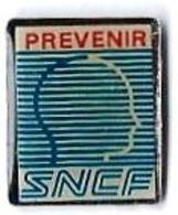 SERVICES DIVERS - SD169 - PREVENIR SNCF - Verso : SM - TGV
