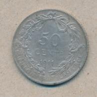 België/Belgique 50 Ct Albert1 1911 Fr Morin 300 (1378193) - 1909-1934: Albert I