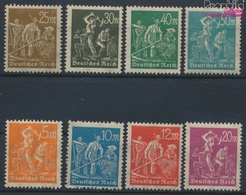 Deutsches Reich 238-245 (kompl.Ausg.) Postfrisch 1922 Arbeiter (9363178 - Nuevos