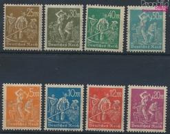 Deutsches Reich 238-245 (kompl.Ausg.) Postfrisch 1922 Arbeiter (9363180 - Nuevos