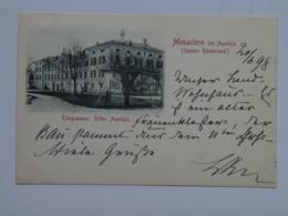 Udine M50 Aqileja Aquileia Gruss Monastero Telegramme Ritter 1898 - Udine