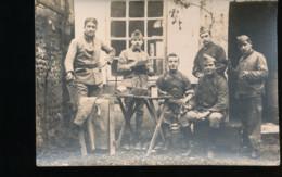 Groupe De Militaire --Photo Boidron -- Tours - Personen