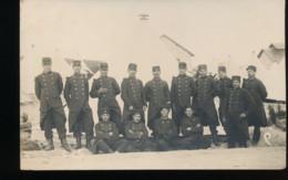 Groupe De Militaire  ( Carte Photo ) - Personen