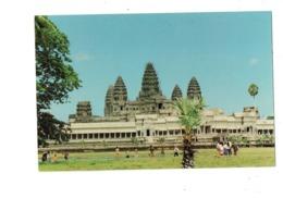 Cpa - CAMBODGE - Temple - Angkor Wat - Siem Reap - 1996 - Travaux échafaudage - Cambodja