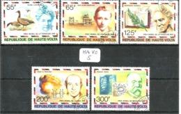 HA VO YT 428/432 En Obl - Obervolta (1958-1984)