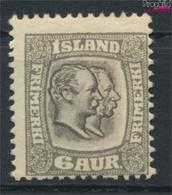 Island 52 Mit Falz 1907 Christian IX. Und Frederik VIII. (9350154 - Islandia